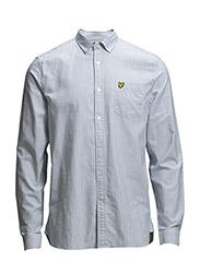 LS Oxford stripe shirt - RIVIERA