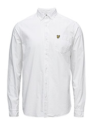 Garment Dye Shirt - WHITE