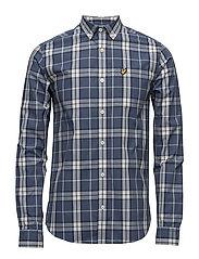 Check Shirt - BLUE STEEL