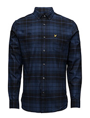 Check Flannel Shirt - NAVY