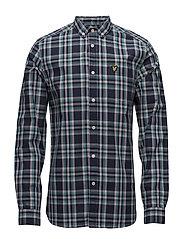Check Shirt - NAVY