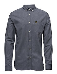 Twill Mouline Shirt - NAVY
