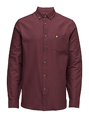 Oxford Shirt - CLARET JUG