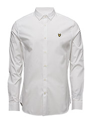 Poplin Slim Fit Shirt - WHITE
