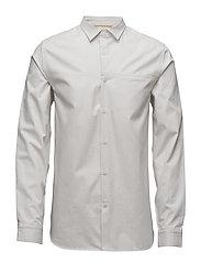 Ric Rac Texture Shirt - OATMEAL MARL