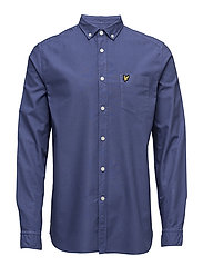 Garment Dye Oxford Shirt - STORM BLUE