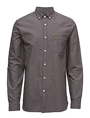 Tattersal Check Shirt - NAVY