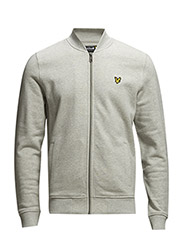 LS Sweat bomber - Light Grey Marl