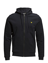 LS Zip through hoodie - New Navy