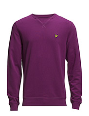 LS Crew neck sweatshirt - Blackcurrant