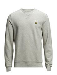LS Crew neck sweatshirt - Light Grey Marl