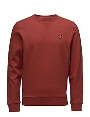 Crew neck sweatshirt - FLAME RED MARL