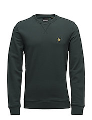 Crew neck sweatshirt - FOREST GREEN