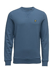 Crew neck sweatshirt - LIGHT TEAL
