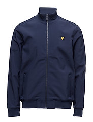 Zip Through Funnel Neck Soft Shell Jacket - NAVY