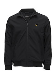 Zip Through Funnel Neck Soft Shell Jacket - TRUE BLACK
