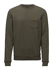 Garment Dye Sweatshirt - DUSTY OLIVE