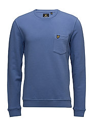 Garment Dye Sweatshirt - STORM BLUE
