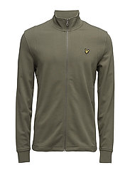Lightweight Funnel Neck - DUSTY OLIVE