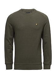 Honeycomb Sweatshirt - OLIVE