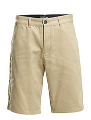 Basic chino short - Dark Sand