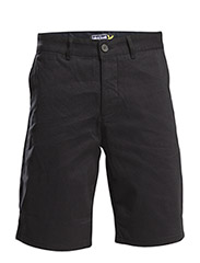Basic chino short - True Black