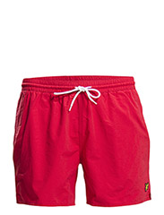 Plain swim short - Royal Red