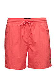Plain Swim Short - CINNABAR RED