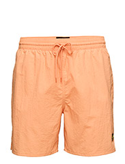 Plain Swim Short - SUNSET ORANGE