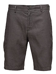 Cotton Linen Short - CHARCOAL