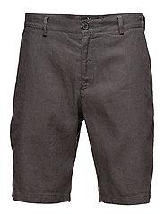 Cotton Linen Short - CHARCOAL