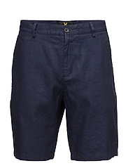 Cotton Linen Short - NAVY