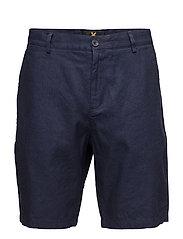 Cotton Linen Short - NAVY