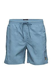 Plain Swim Short - PACIFIC BLUE
