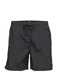 Plain Swim Short - TRUE BLACK