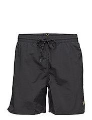 Plain Swim Short - TRUE BLACK