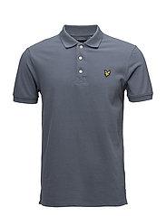 Polo Shirt - MIST BLUE