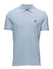 Polo Shirt - BLUE MARL