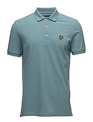 Polo Shirt - AQUA GREEN MARL