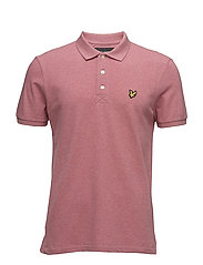 Polo Shirt - POMEGRANATE MARL