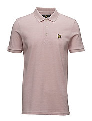 Polo Shirt - SOFT PINK MARL