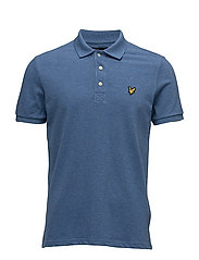 Polo Shirt - STORM BLUE MARL