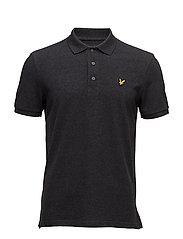 Polo Shirt - CHARCOAL MARL