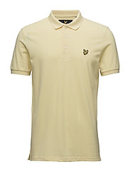 Polo Shirt - PALE YELLOW