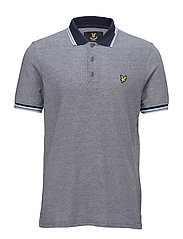 Tipped Polo Shirt - NAVY