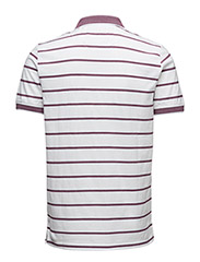 Multi-Coloured Birdseye Stripe Polo Shirt