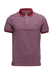 All Over Multi-Coloured Birdseye Polo Shirt - RUBY