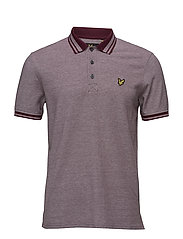 Oxford Polo shirt - CLARET JUG