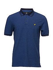 Oxford Polo shirt - LAKE BLUE