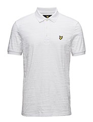 Dazzle Polo Shirt - WHITE